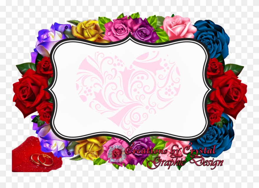 Custom Borders Created For Her Border Designs Flowers Cut Outs