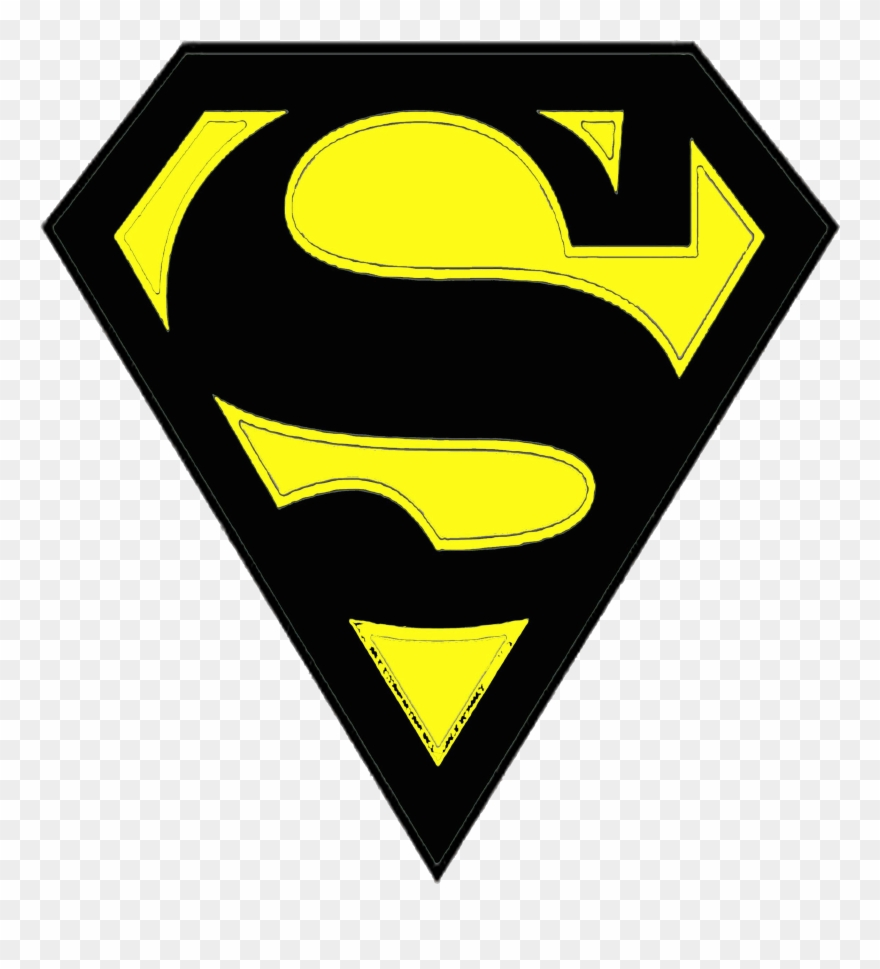 Superman Clipart Superwoman Logo Superman Logo Outline - Superman - Png Download