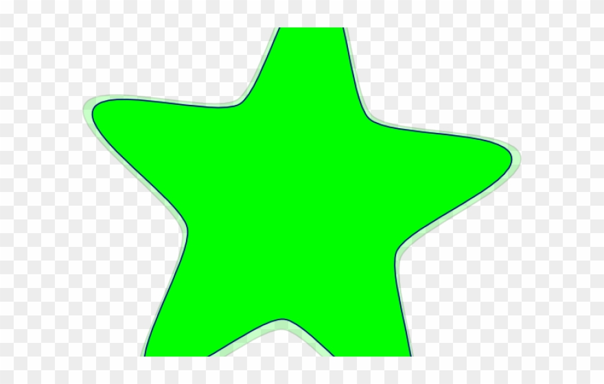 Neon Clipart Green Star - Png Download (#1605035) - PinClipart