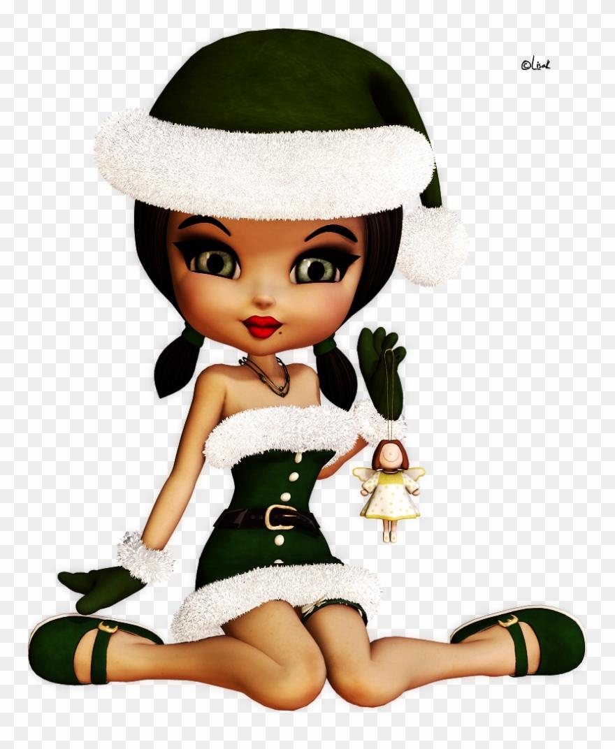 vintage noel elfen