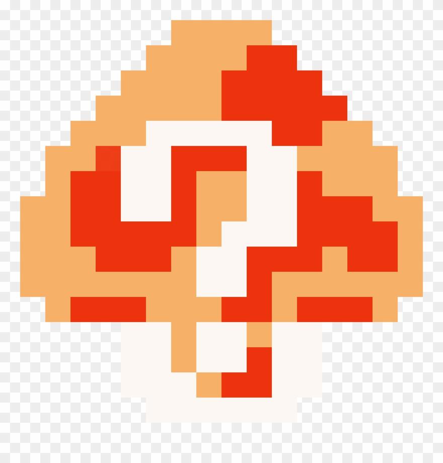 Super Mario Clipart Mystery Number - Super Mario Bros