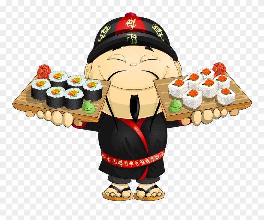 Kokeshi * Chinesa * Asian - Japanese Food Animated Clipart ... (880 x 735 Pixel)