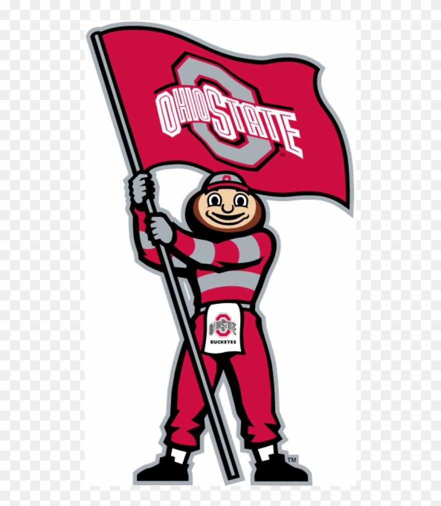 Ohio State Buckeyes Iron Ons Ohio State Mascot Logo Clipart 1624143 Pinclipart