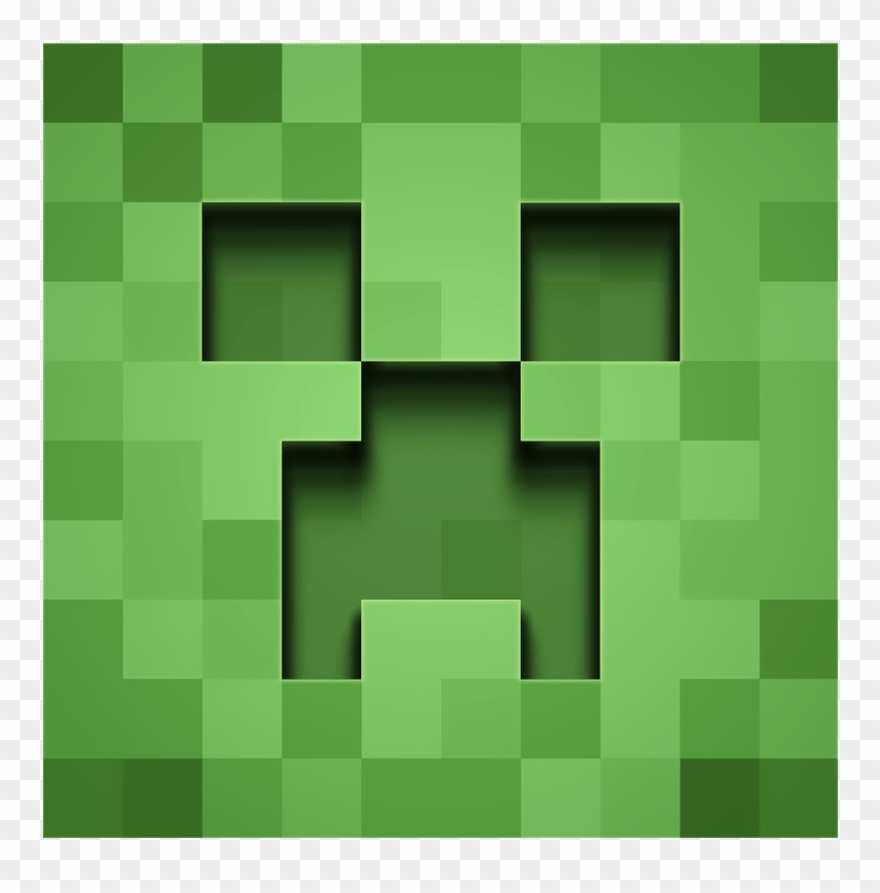 Download Minecraft Creeper Front View Transparent Png Minecraft Creeper Png Clipart 1630757 Pinclipart