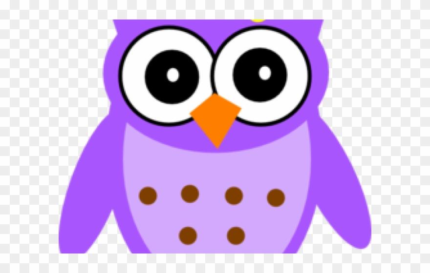 Owl Clipart Purple - Owl Purple - Png Download (#1630797 ...