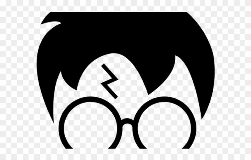 photo about Harry Potter Glasses Printable known as Evaluate Clipart Harry Potter - Harry Potter Stencils