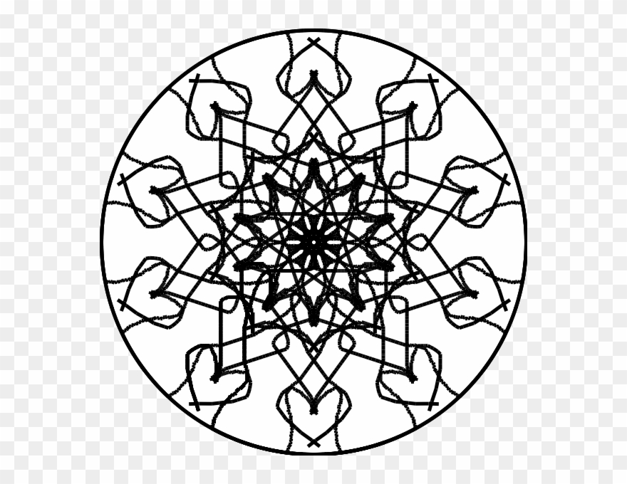 Radial Drawing Geometric Pattern Graphic Library Library