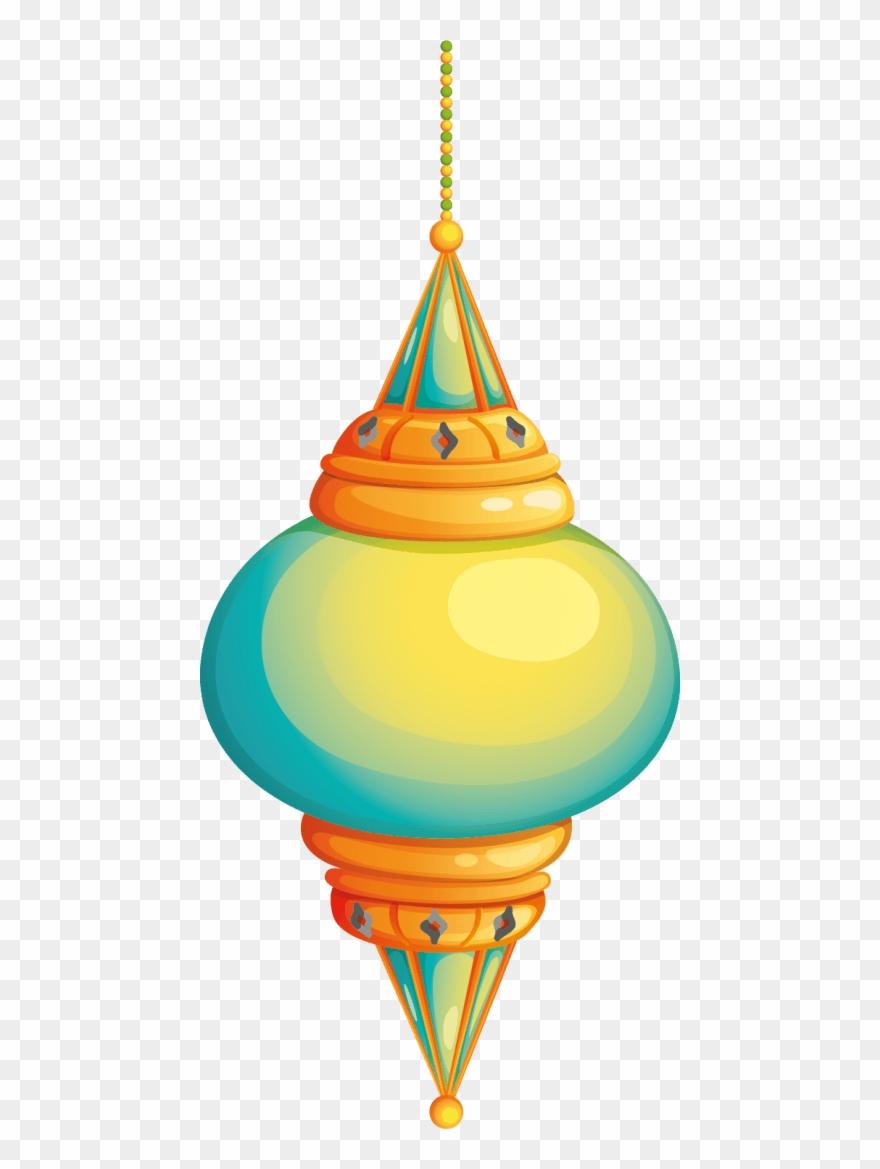 Fanus Ramadan Png - Islamic Vector Circle Background Png Clipart