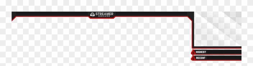 Red And Black Overlay Streamersquare Forums Facecam Border Png Fortnite Clipart 1661562 Pinclipart