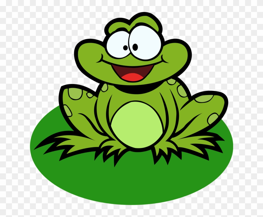 Draw Cute Characters Animals And Other By Cartoon Frog Clipart