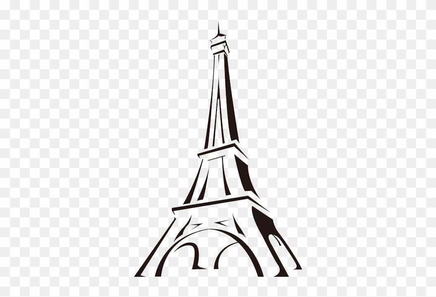 Vector Freeuse Library Tower Cartoon Drawing Clip Art Easy Drawings Of Eiffel Tower Png Download 1669145 Pinclipart