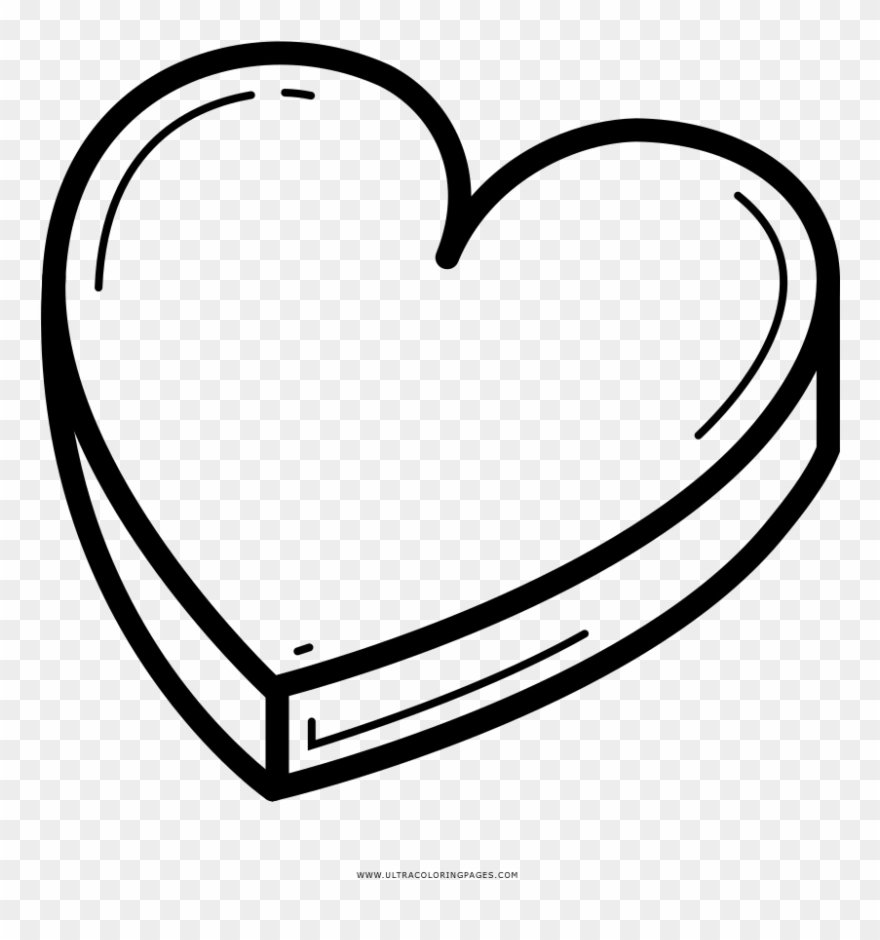 Chocolate box coloring page drawing clipart