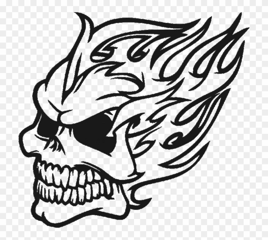 Skull tribal. Dragon drawing clipart pinclipart