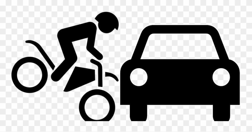 Car Bike Accident Cartoon Clipart 1690401 Pinclipart