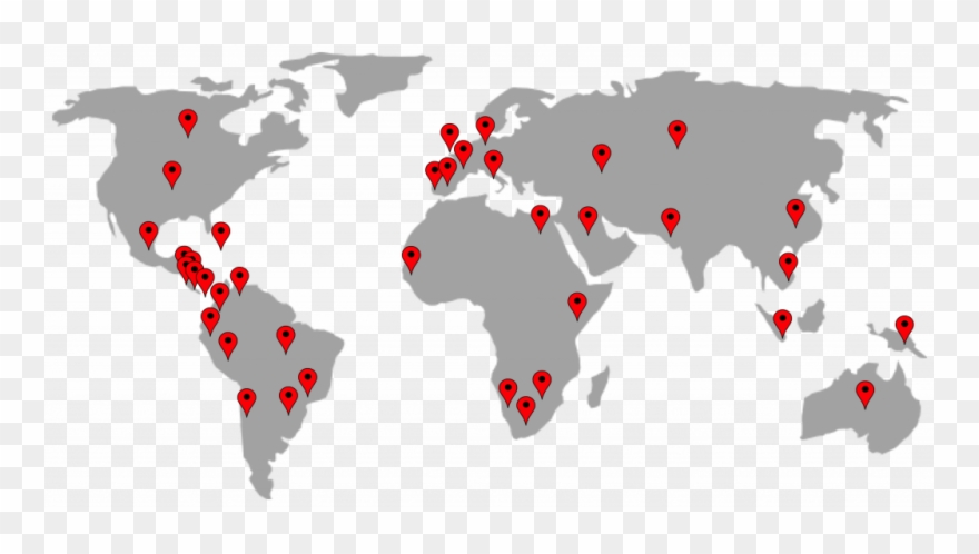 World Map With Pins World Pin Map Ender Realtypark Co Location Stunning World