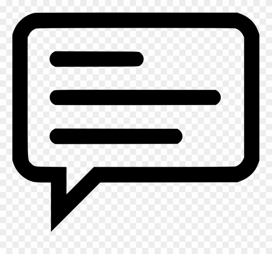Sms Chat Message Information Memo Whatsapp Comments - White