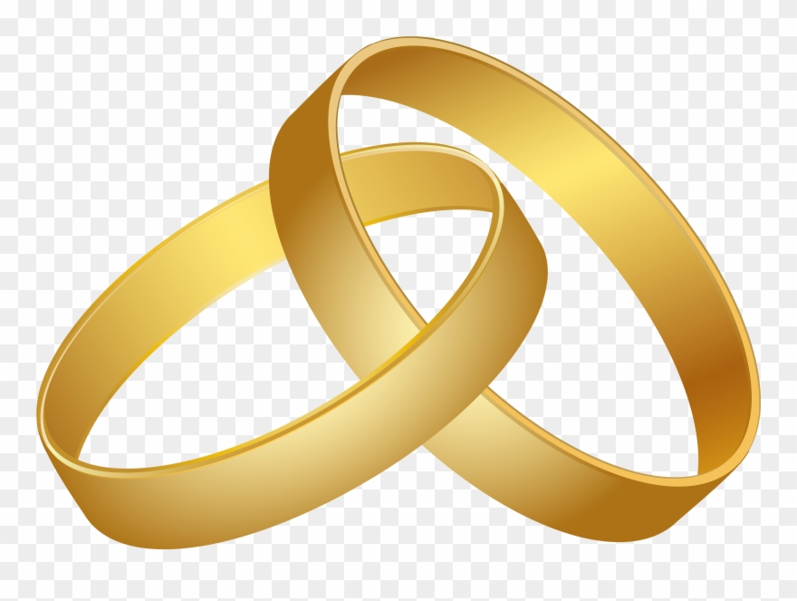 Clipart Freeuse Wedding Gold Png Clip Clip Art 5 Gold Rings Transparent Png 170971 Pinclipart