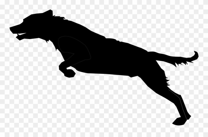 4ff273fbdc088 Labrador Retriever Pug Animal Silhouettes Hunting Dog - Jumping Dog  Silhouette Clipart