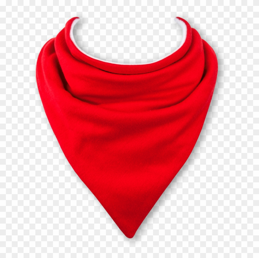 5af16face0e Transparent Bandana Neck Clip Art Free Library - Baby Bandana Bib In Sports  Car Red -
