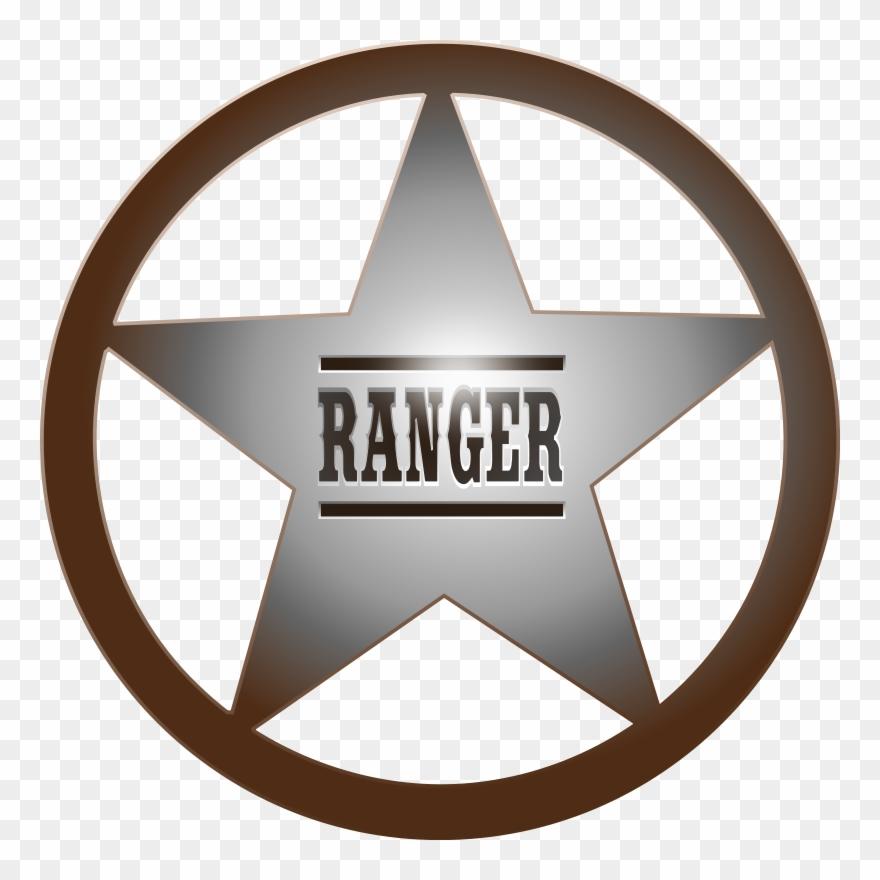Texas Star Cliparts Park Ranger Badge Clip Art Png Download 172406 Pinclipart