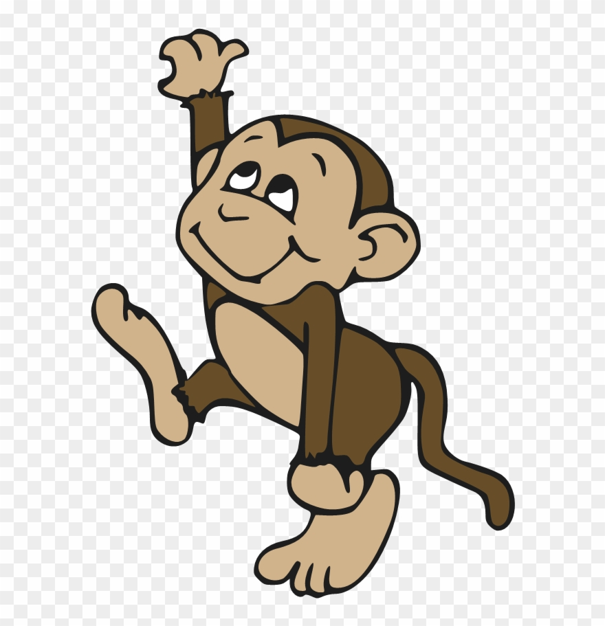 bc37966fa Cute Monkey Cartoons Pictures Cartoon Tattoo - Cute Monkey Embroidery  Design Clipart