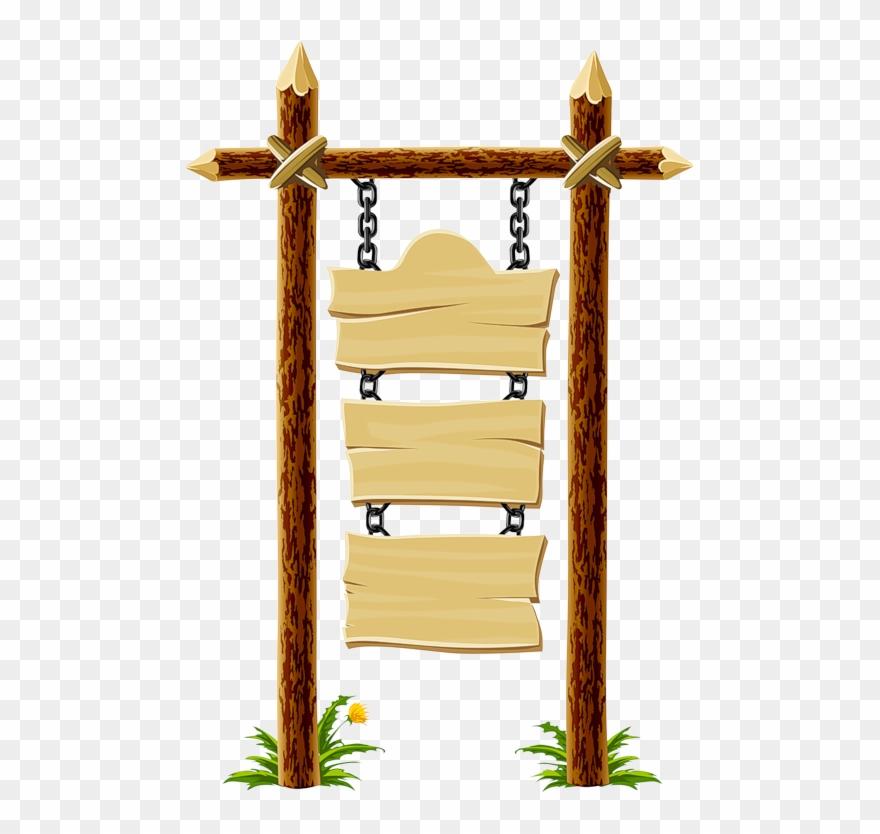 Wood signage. Plaque clipart placard clip