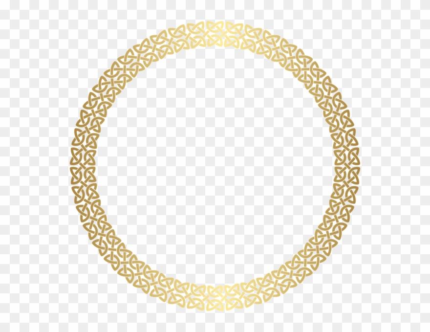 47fb110cbce5 Border Frame Gold Png Clip Art Textures - Gold Round Png Frame Transparent  Png