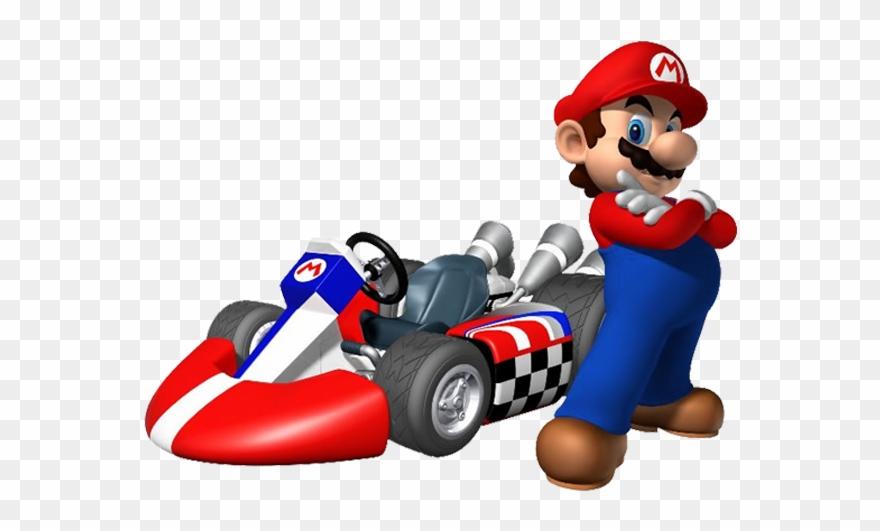 Mario Kart Mario Clipart (#174658) - PinClipart