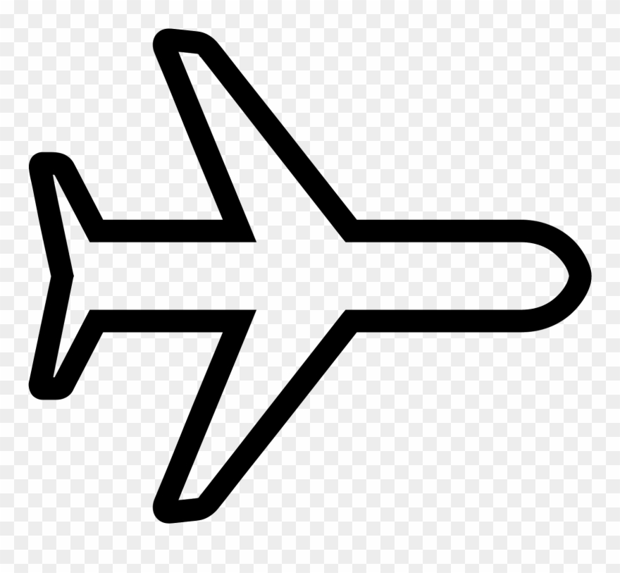 Svg Free Library Avion Vector Airplane Icon White Clipart 175408 Pinclipart