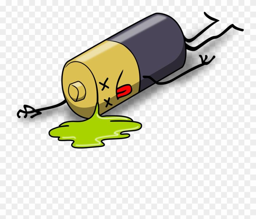 Batteries And Accumulators Steemit - Dead Battery Clipart (#175459 ...