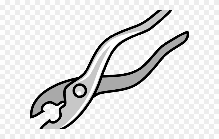 Plier Clipart Black And White Carpentry Tools Clip Art