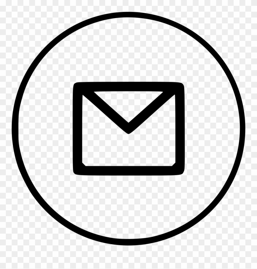 Email  Envelope  Letter  Mail  Message  Sign Icon - Letter Png Icon Clipart   1707717