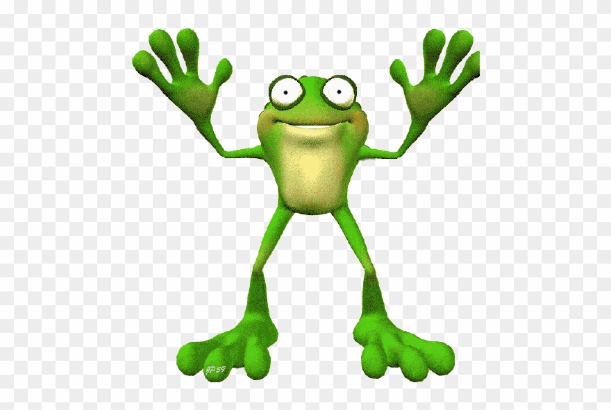 Картинки с лягушками анимация