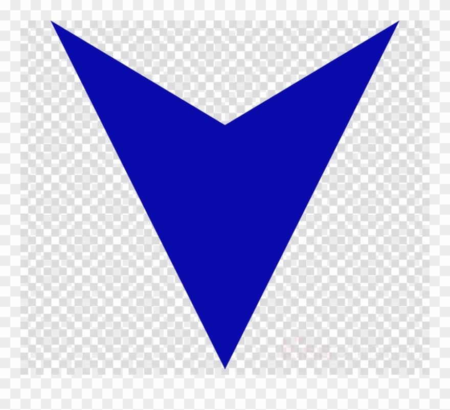 Arrow Blue Down Clipart Clip Art White Leaf Icon