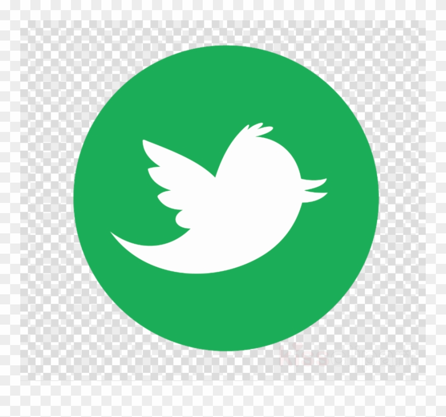 Twitter green. Logo material png clipart