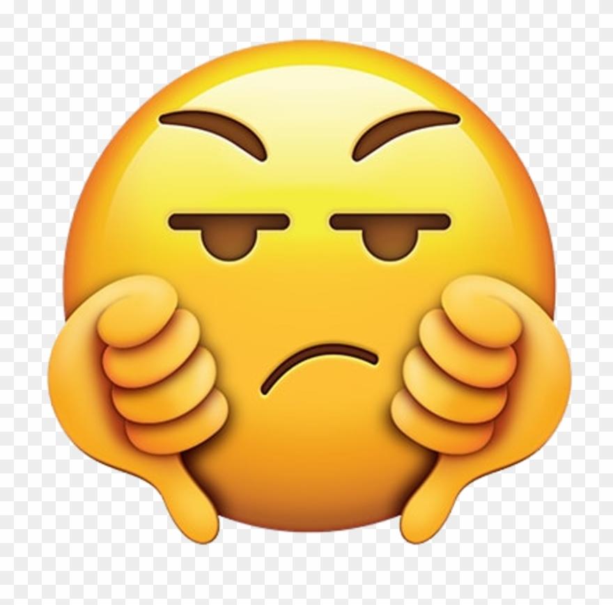Emoji Cute Love Lol Followme Funny Follow Me Plz 💖 - Thumbs Down