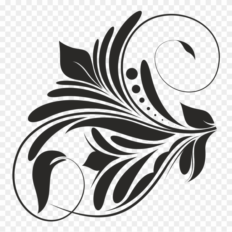 Newest For Black Graphic Vector Design Png