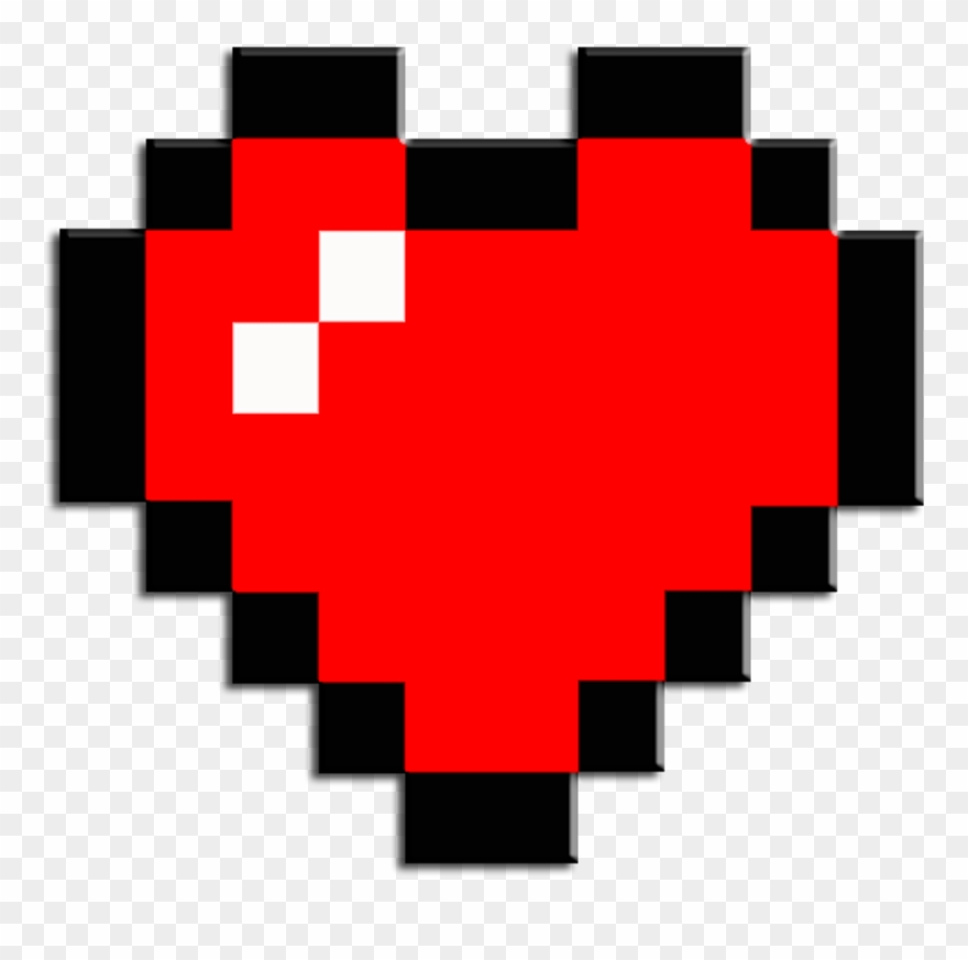Mc Minecraft Mine Craft Steve Skin Alex Bw Bedwars Zelda Heart