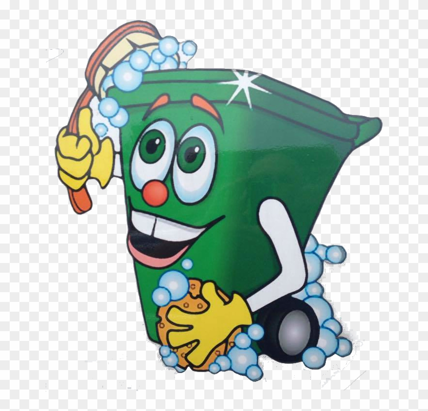 Wheelie Bin Cleaning >> Wheelie Bin Cleaning Man Clipart 1743068 Pinclipart
