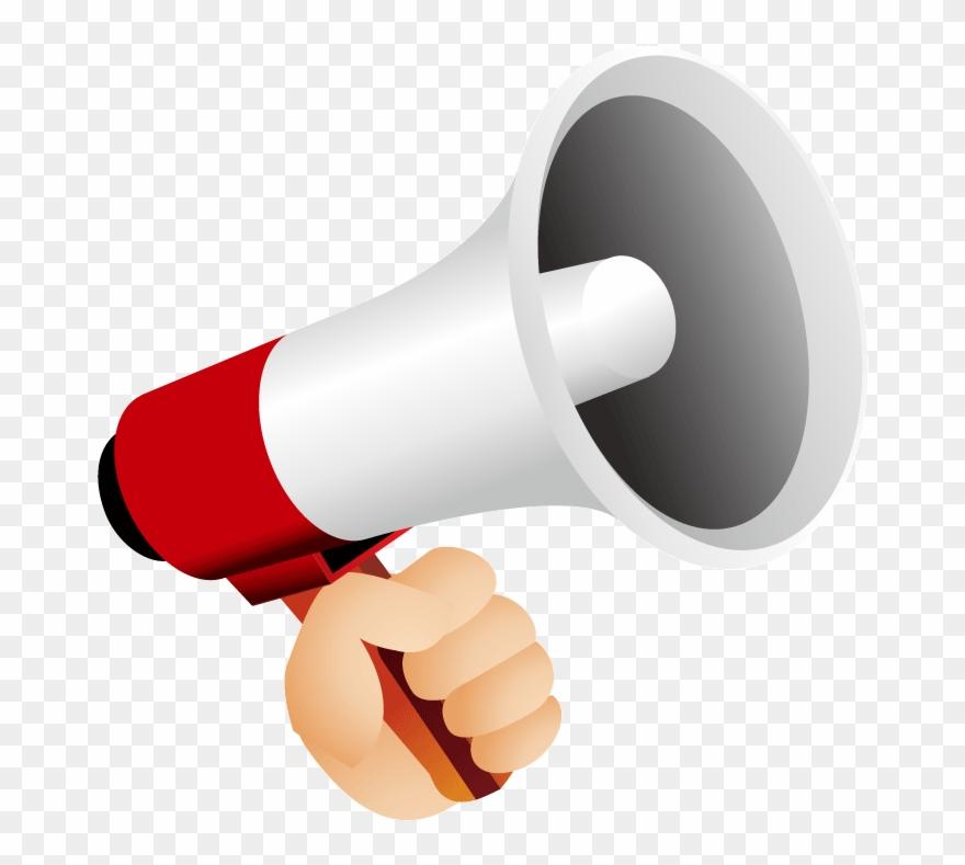 Loudspeaker Icon Red Speaker Megaphone Png Clipart 1749085 Pinclipart