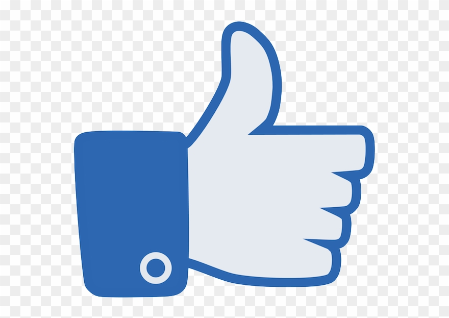Facebook Like &ndash Thumb Up Icon Free Vector And - High Resolution