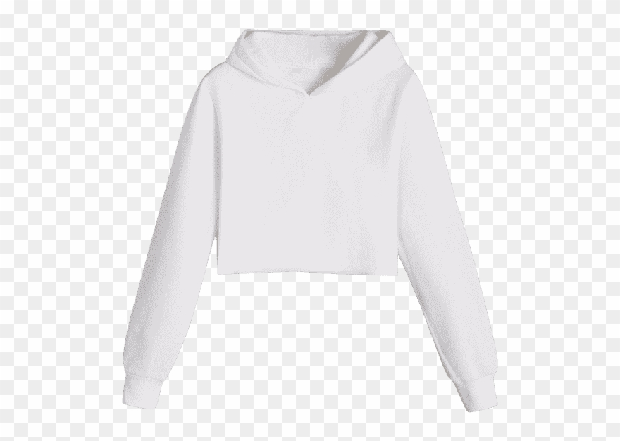 569b1d8245 Zaful Flocking Cropped Hoodie - Sweater Clipart (#1757703) - PinClipart