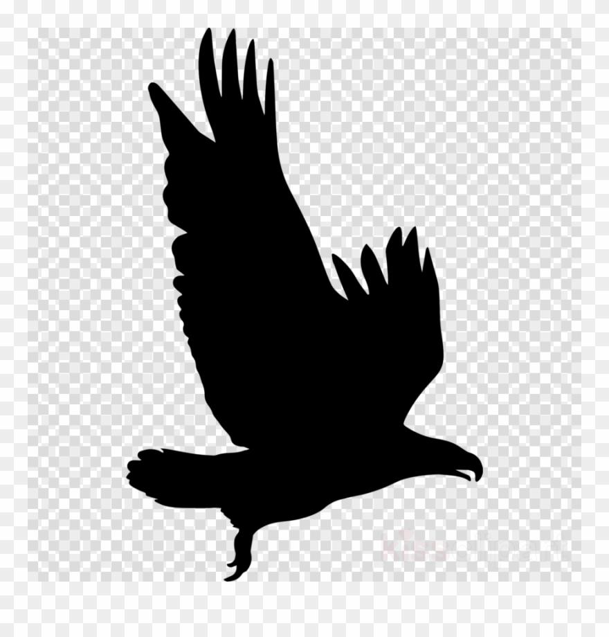 Eagle silhouette file.
