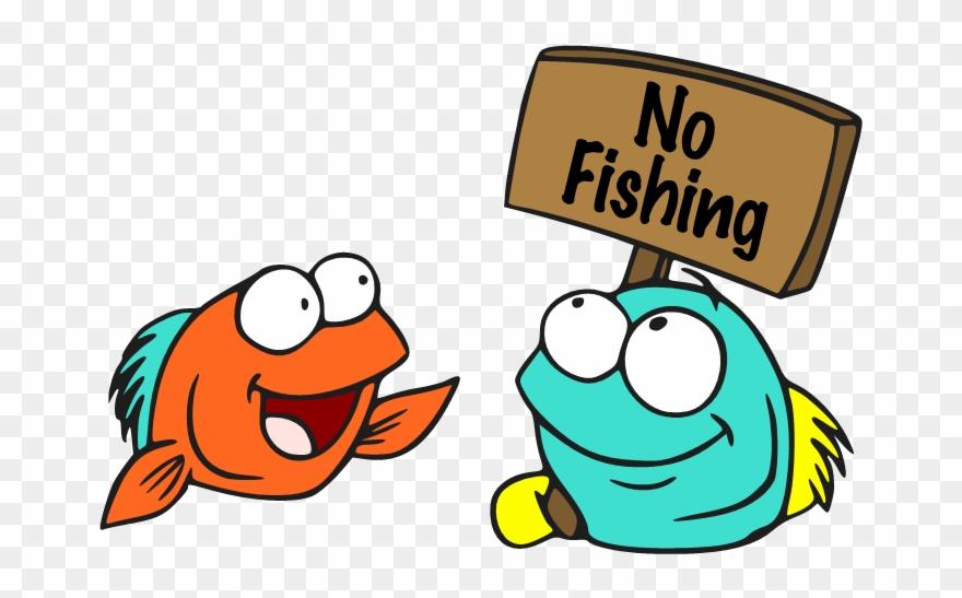 No Fishing Sign Cartoon Clipart 1763428 Pinclipart