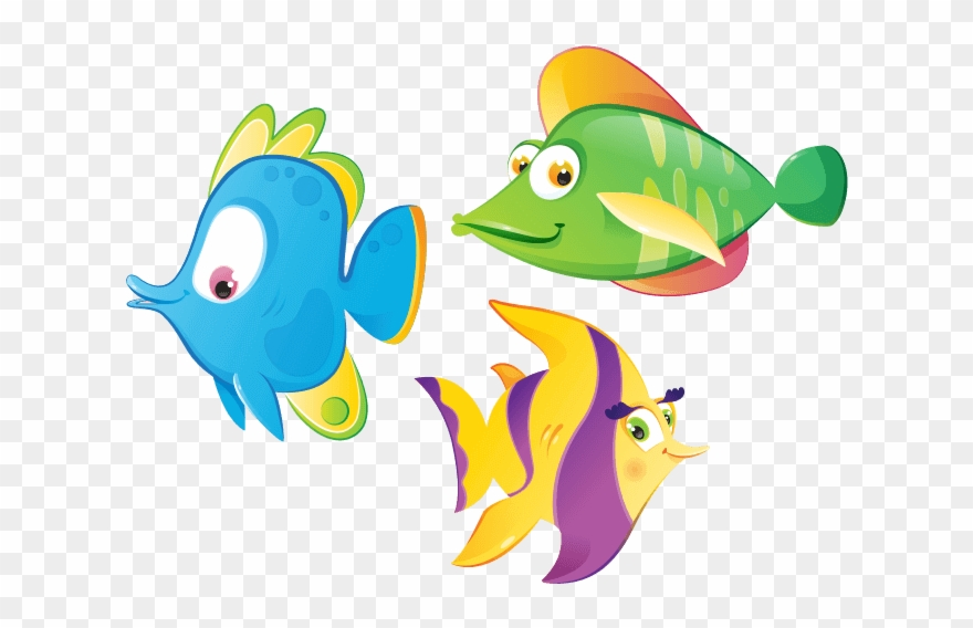 Colorful Fish Pesciolini Colorati Da Stampare Clipart 1765442