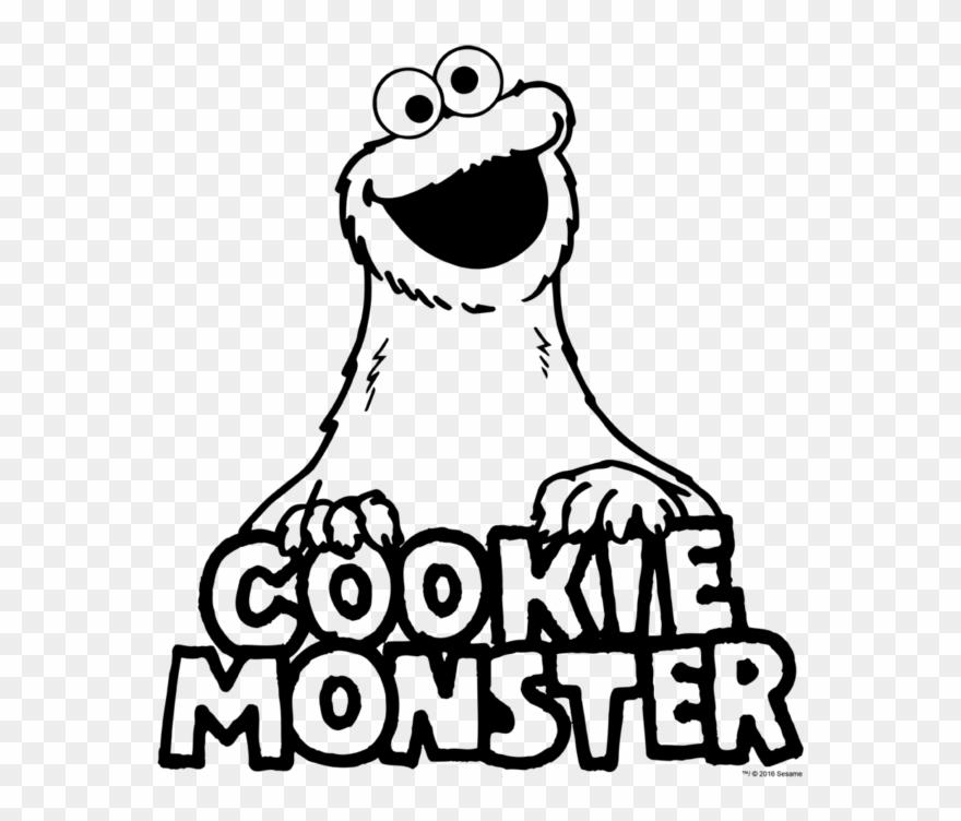 Sesame Street Vintage Cookie Monster Kids T Shirt