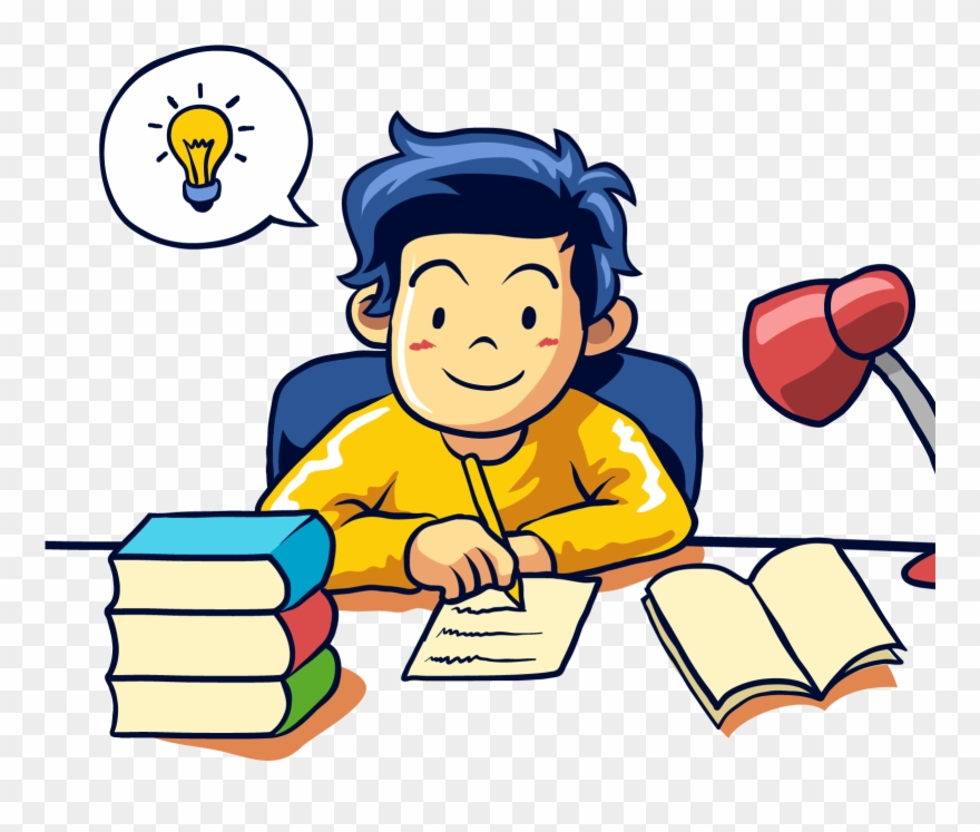 Student Learning Writing Student Writing Clipart Png Transparent Png 1767792 Pinclipart