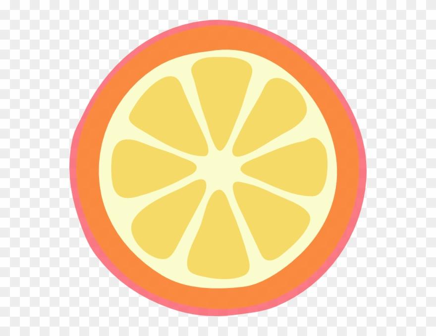 Orange Slice Cartoon Png Clipart 1771980 Pinclipart