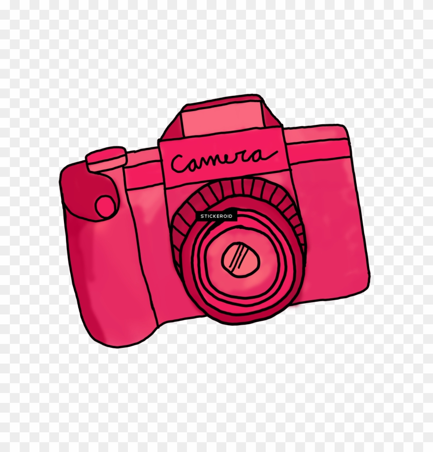 Canon Camera Cartoon Transparent Camera Cute Png Clipart 1773584 Pinclipart
