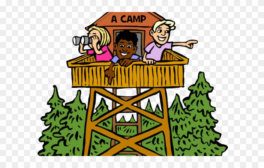 Camping Clipart School Camp - Summer Camp Clip Art - Png Download ...